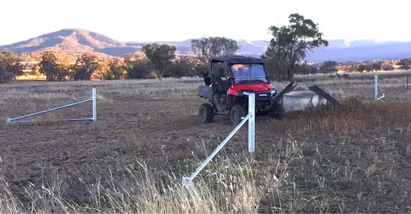 Subdividing paddocks cost-effectively; one new trough can water up to four or more paddocks depending how paddocks are set up. Electric tapes are used to separate paddocks as required. Turning off water to the trough when the cattle have been moved on.